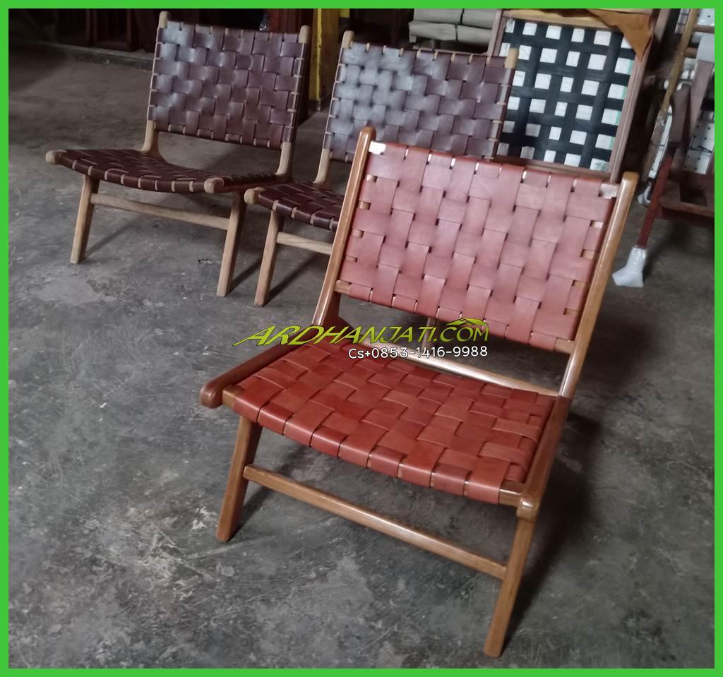 Kursi Jati Vintage Lounger