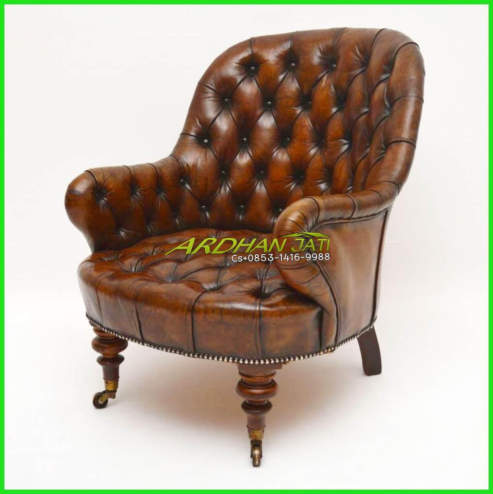 Leather Sofa Chesterfield