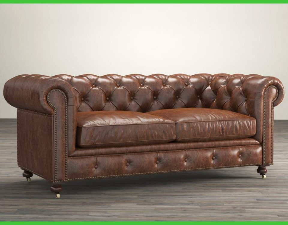 Sofa Kulit Chesterfield Livingroom