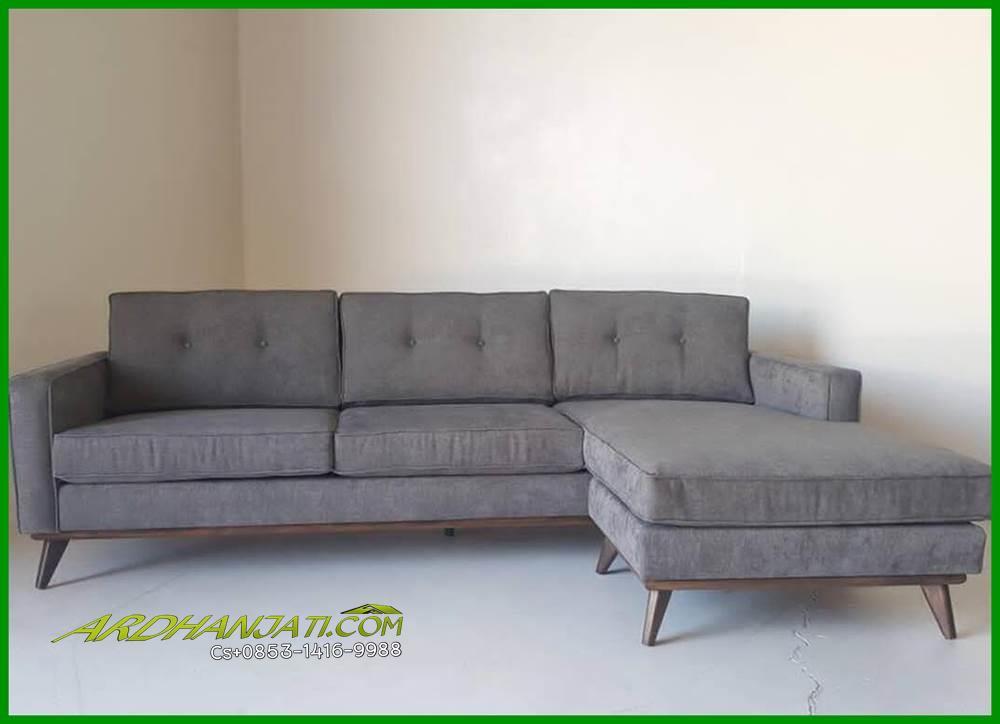 sofa l minimalis terbaru