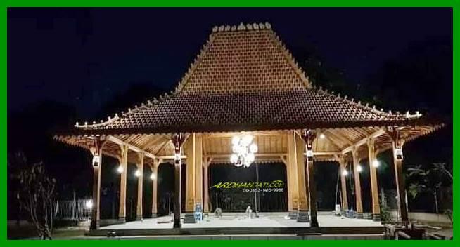 Rumah Joglo Kayu Jati