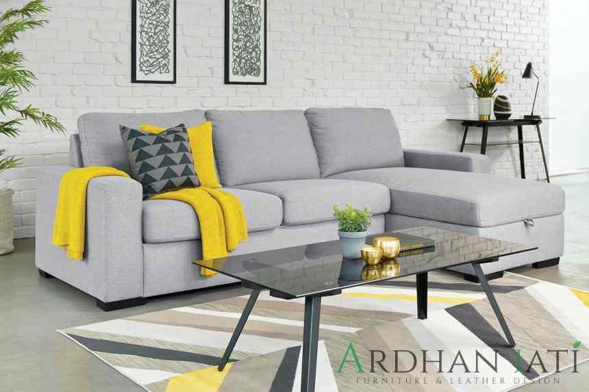 Jual Sofa Tamu L Minimalis Terbaru Elegant