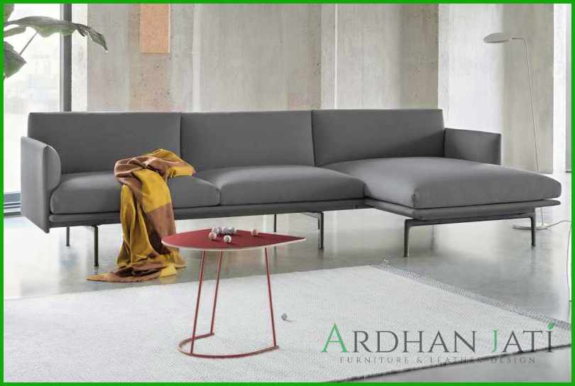 Sofa Minimalis Modern Chaise Ruang Tamu