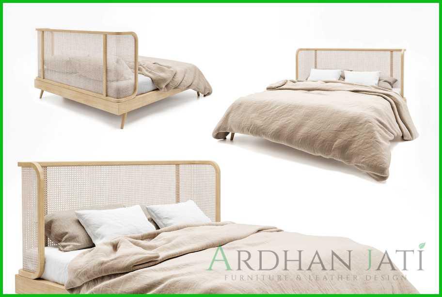 Jual Tempat Tidur Rotan Minimalis Murah